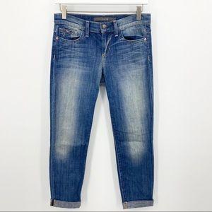 Joe's Jeans Cigarette Skinny Cropped Jeans Size 25